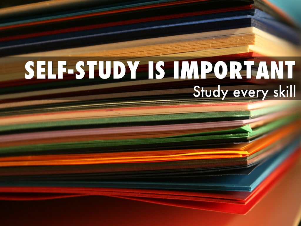 self study Autodidacticism (also autodidactism) or self-education (also self-learning and self-teaching) is education without the guidance of masters (such as teachers and professors) or institutions (such as schools) generally, an autodidact is an individual who chooses the subject they will study, their studying material, and the studying rhythm and time.