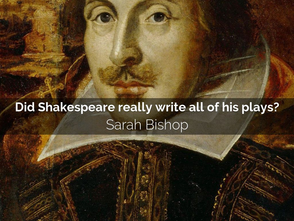 what did shakespeare use to write his plays