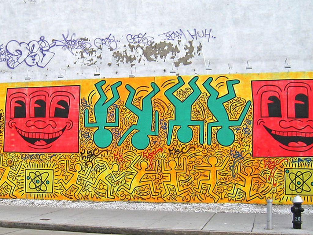 Keith Haring by Steve Blais