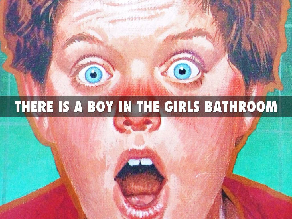 There Is A Boy In The Girls Bathroom By Lexi Wells