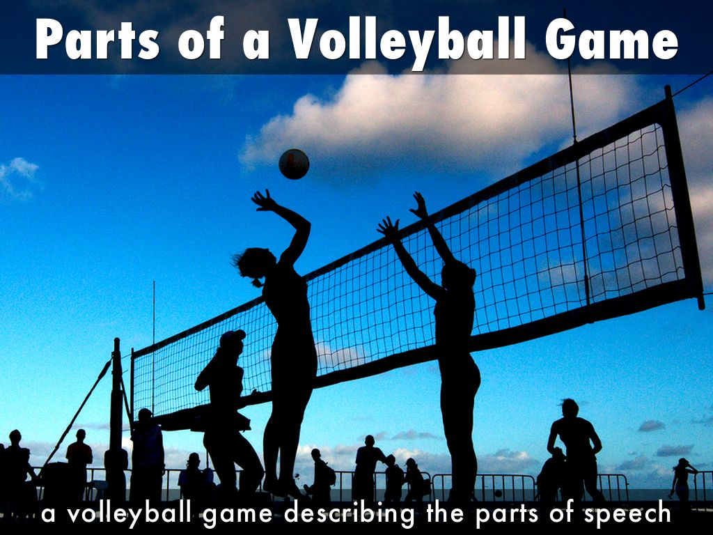 Parts of a Volleyball Game