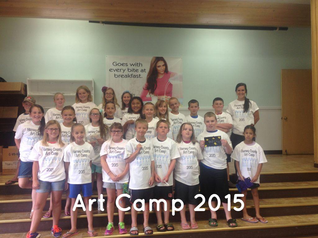 Art Camp 2015