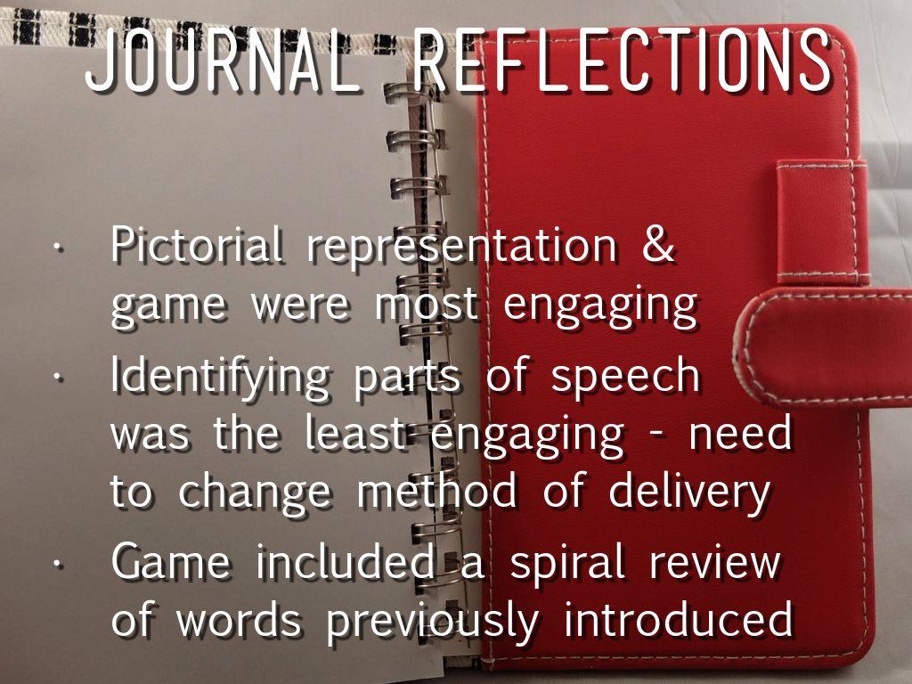 reflexive journal