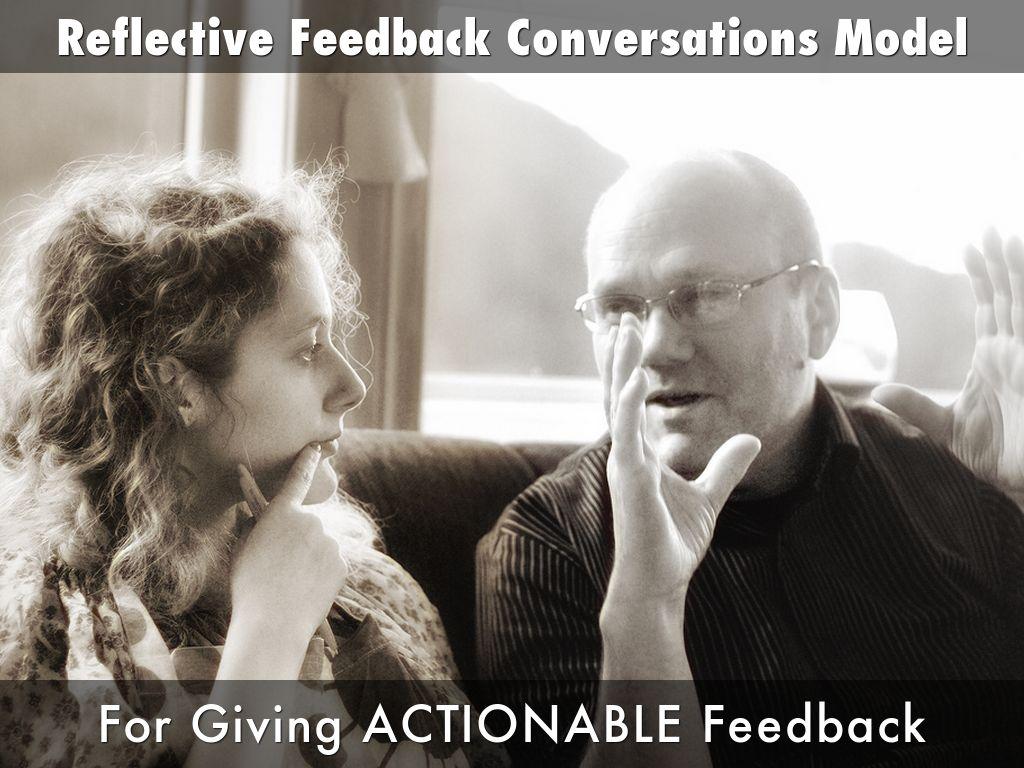 Reflective Feedback Conversation Model (Preclinical Educators)