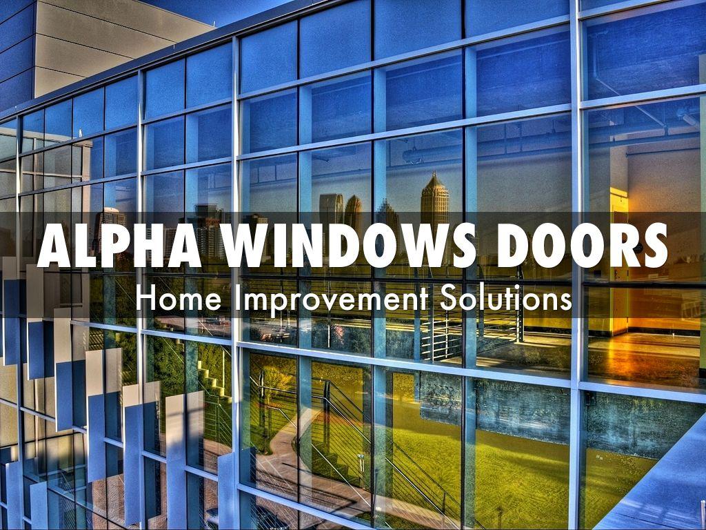 Alpha Windows Doors