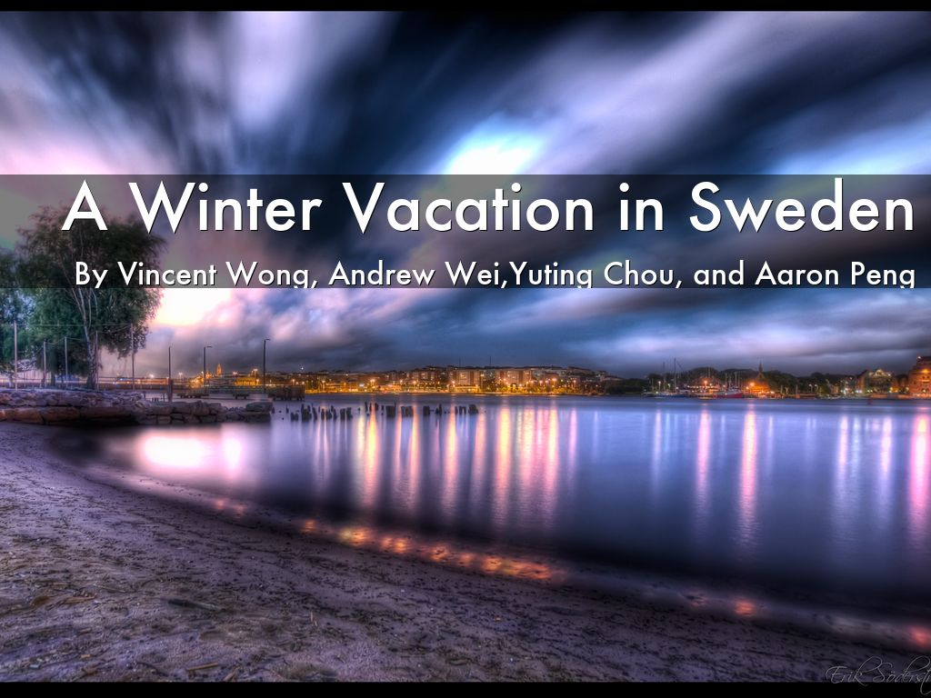 a winter vacation in sweden by vinnywong6969