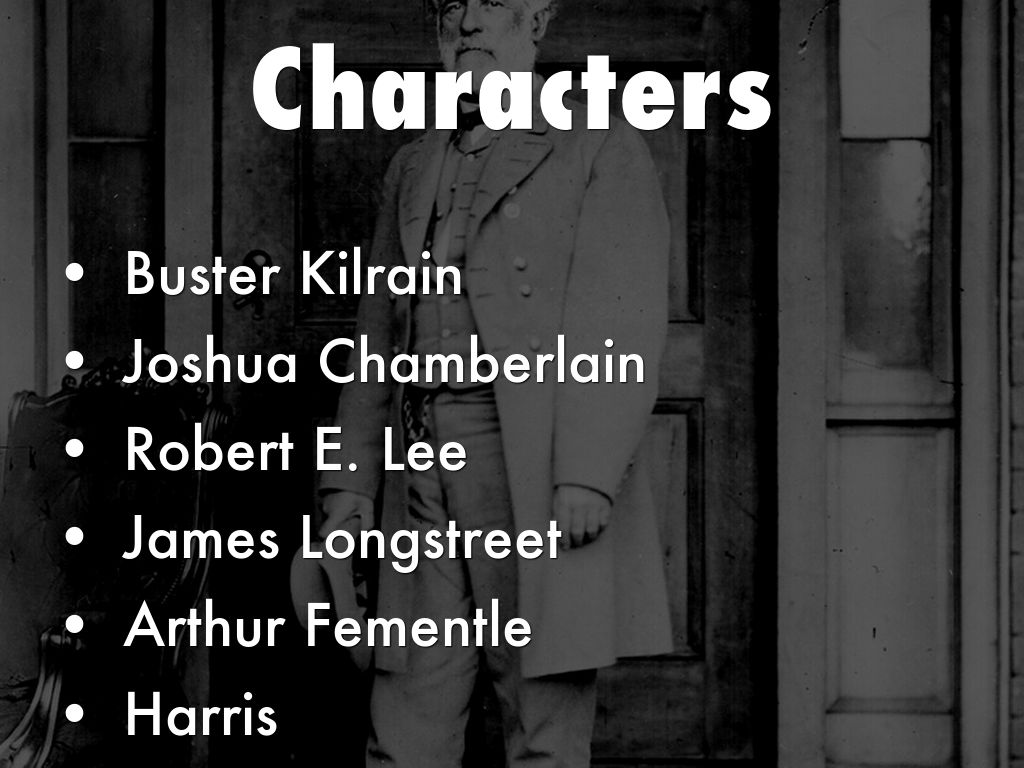 the killer angels characters