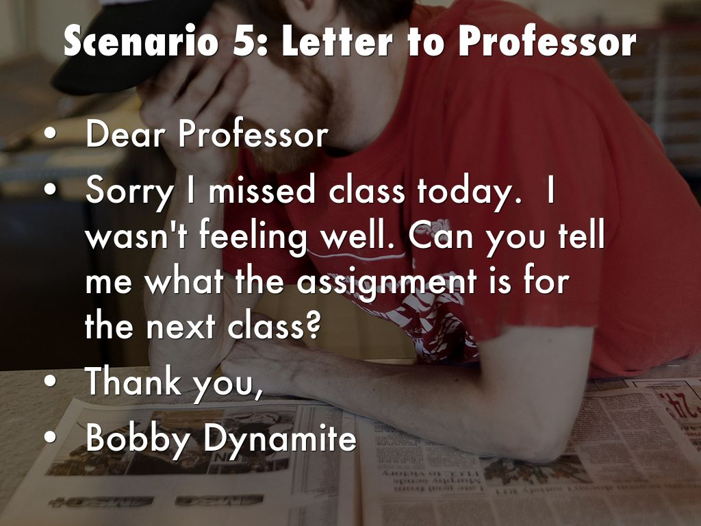 dear professor Dear professor: letters from writers by heidi bollinger one of my formative experiences as a first-year undergraduate was visiting my american literature professor's office hours to ask a question about the style of my essay draft.