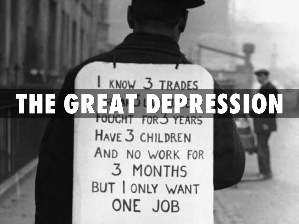 the great depression by darkdanger9149
