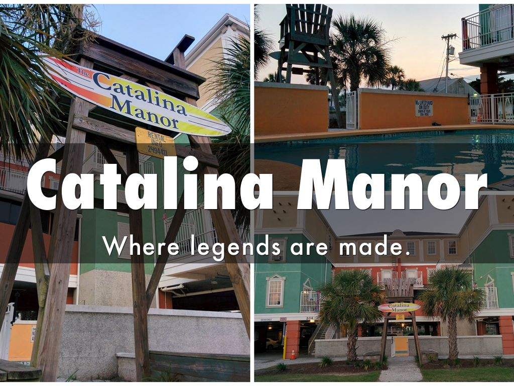 Catalina Manor Myrtle Beach Tours