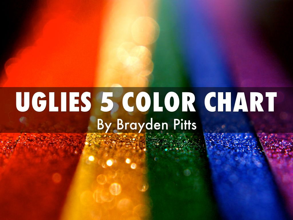Uglies 5 color chart by michelle izzo uglies 5 color chart geenschuldenfo Image collections