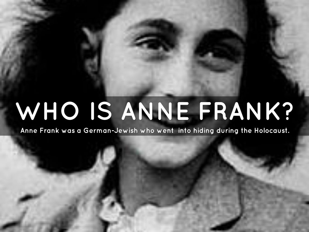 Essay for anne frank remembered