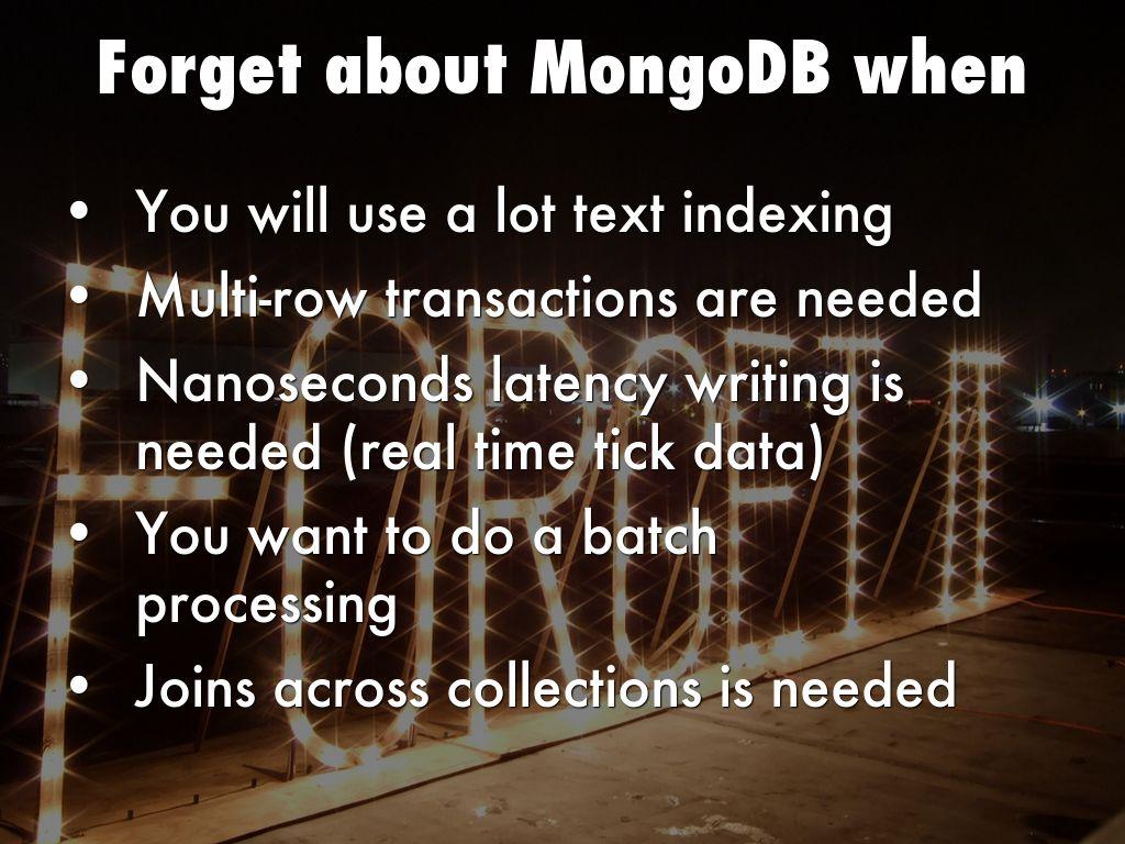 MongoDB in a nutshell by w2iktor