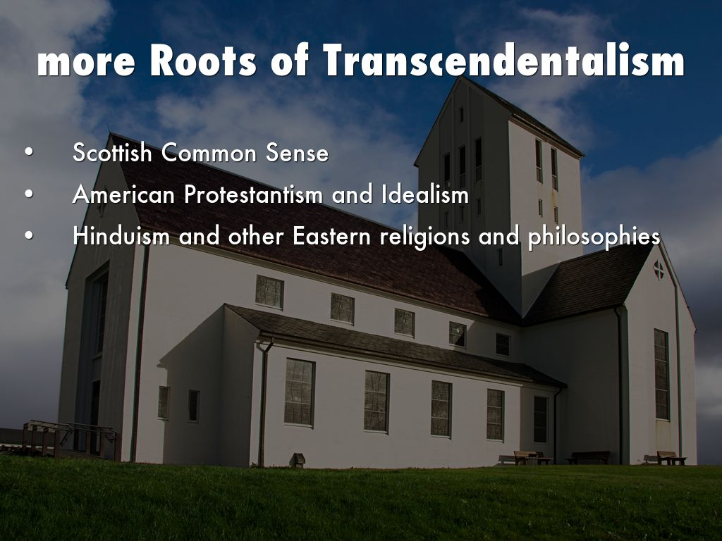 a definition of religion and transcendentalism