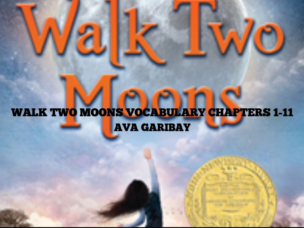 walk two moons Walk two moons $1195 sharon creech • a pouch of boomerangs title this boomerang is part of the a pouch of boomerangs set of ten digital literature guides which are especially designed for 6th-7th grades the pouch editions are similar to the boomerang but written for the middle school set purchase them.