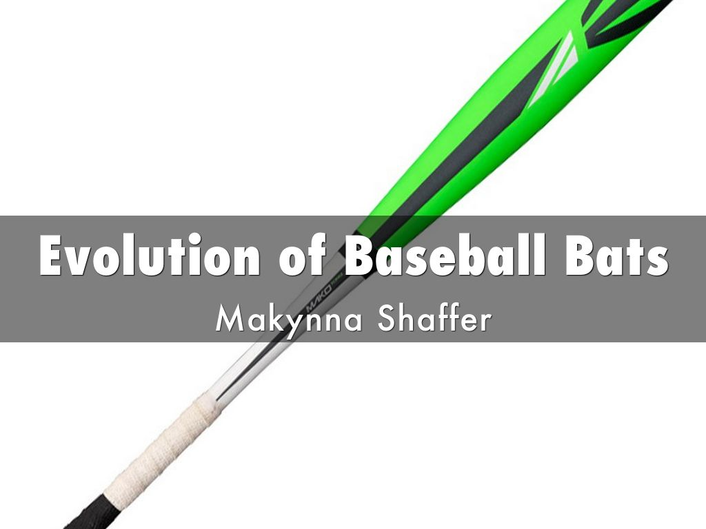 evolution of baseball bats by 2019mshaffer