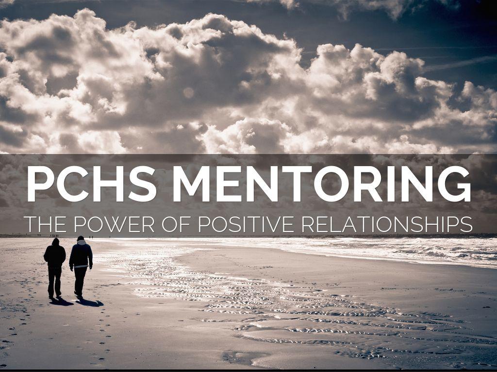 PCHS Mentoring Program