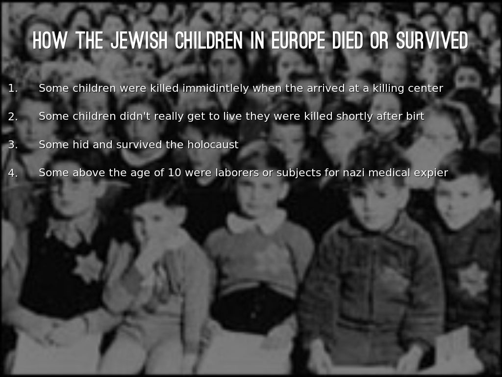"""a look at jewish children in the holocaust One photo shows a woman and three children in the warsaw ghetto the photo credit reads: """"a personal photograph taken by an unidentified german"""" german ss man heinz jost is credited with several hard-to-look-at photos, including one of a jewish boy lying on the ground in the warsaw ghetto."""