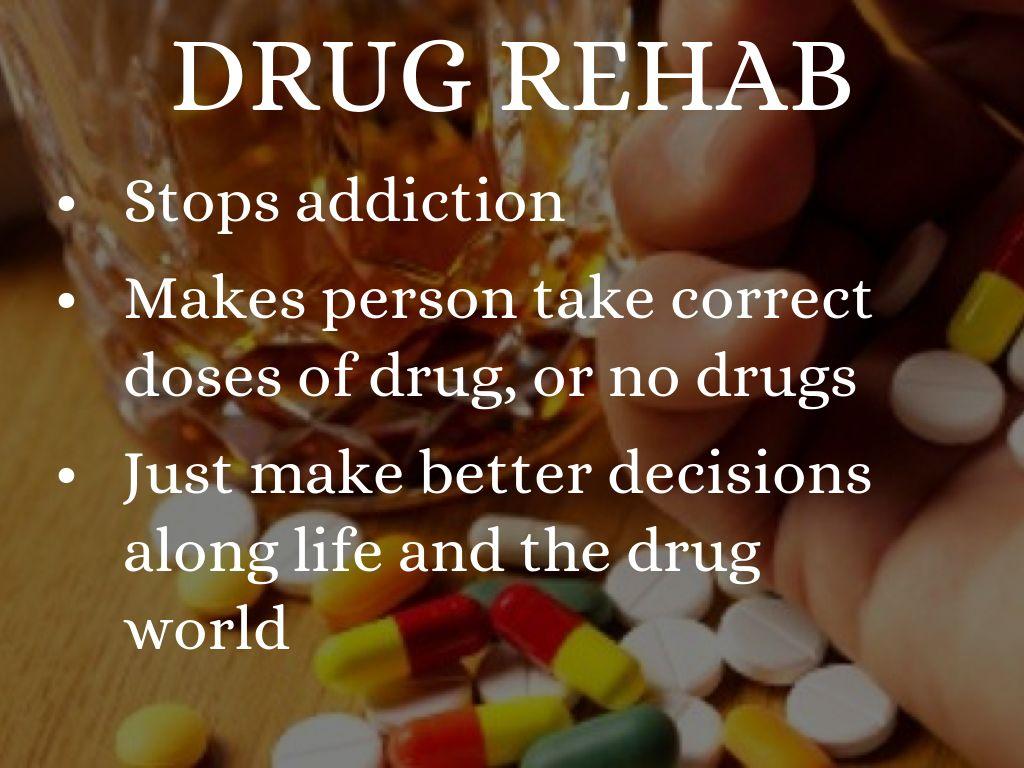 drugs drug rehabilitation drug