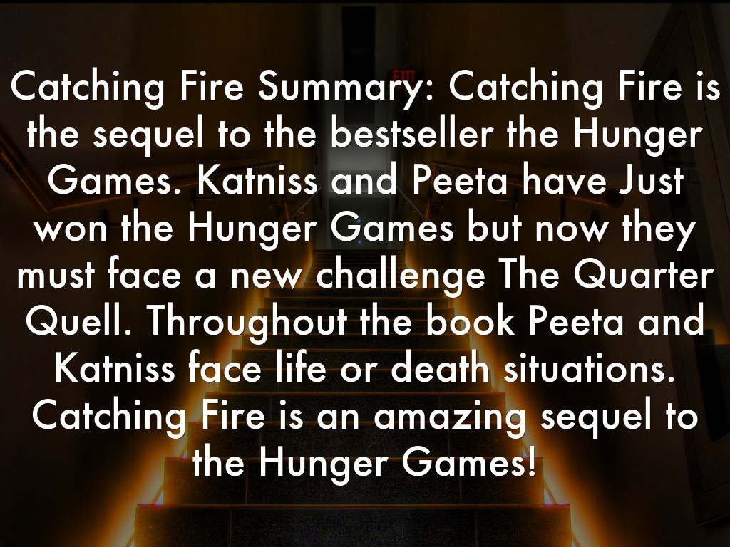 catching fire analysis Acornsized: 'katniss now faces the threat of losing her loved ones when  president snow realises that some people have taken katniss's.