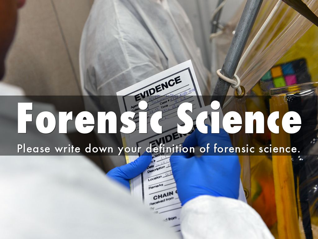 a report on forensic science A draft report from a presidential council of science and technology advisers determined that forensic bite-mark analysis has no scientific validity.