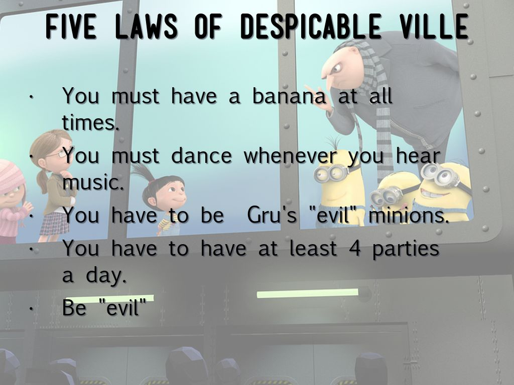 Despicable Ville by Bailey Gerson