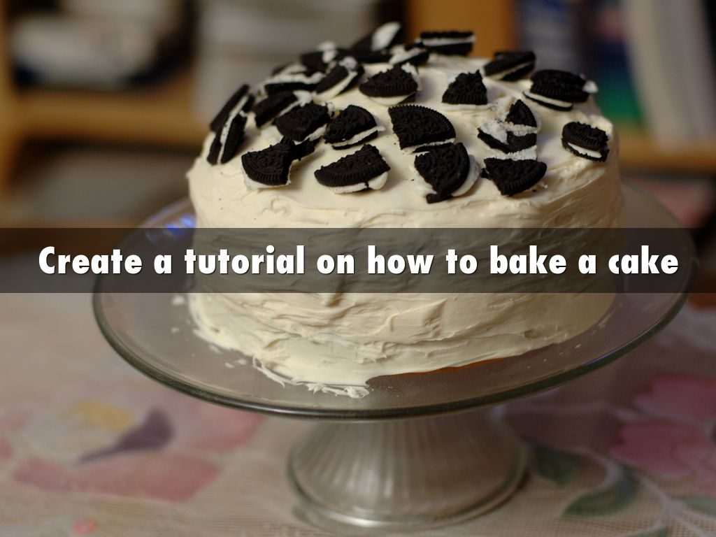 informative speech on how to bake a cake Chocolate chip cookies are as american a treat as you can bake i have to do an informative speech with a demonstration and this had some ©2018 cdkitchen.