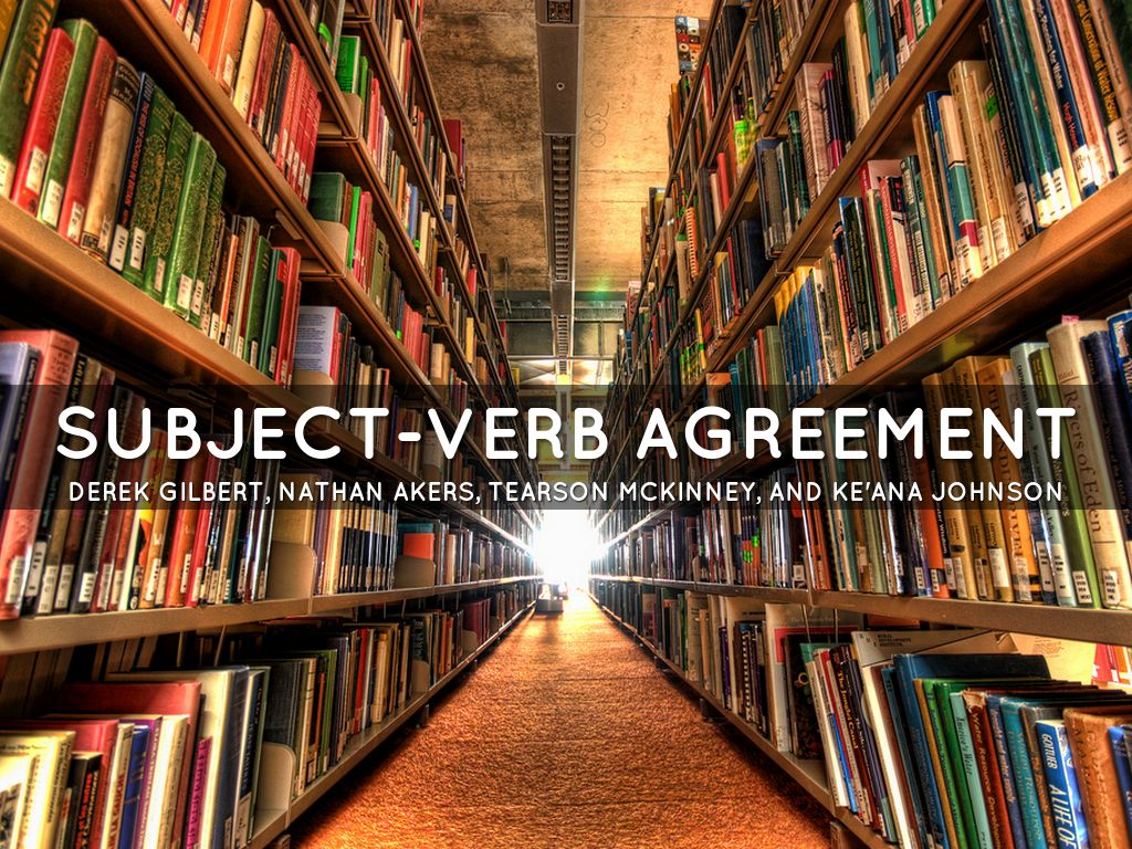 Subject Verb Agreement By Flashh6114