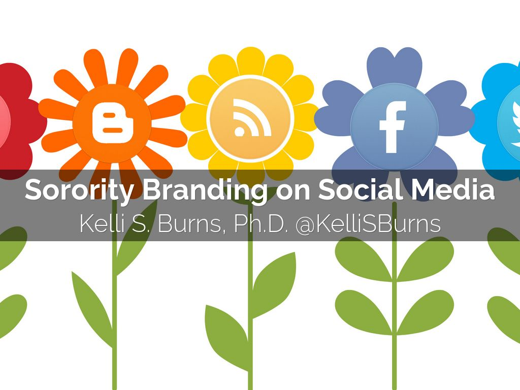 Sorority Branding on Social Media