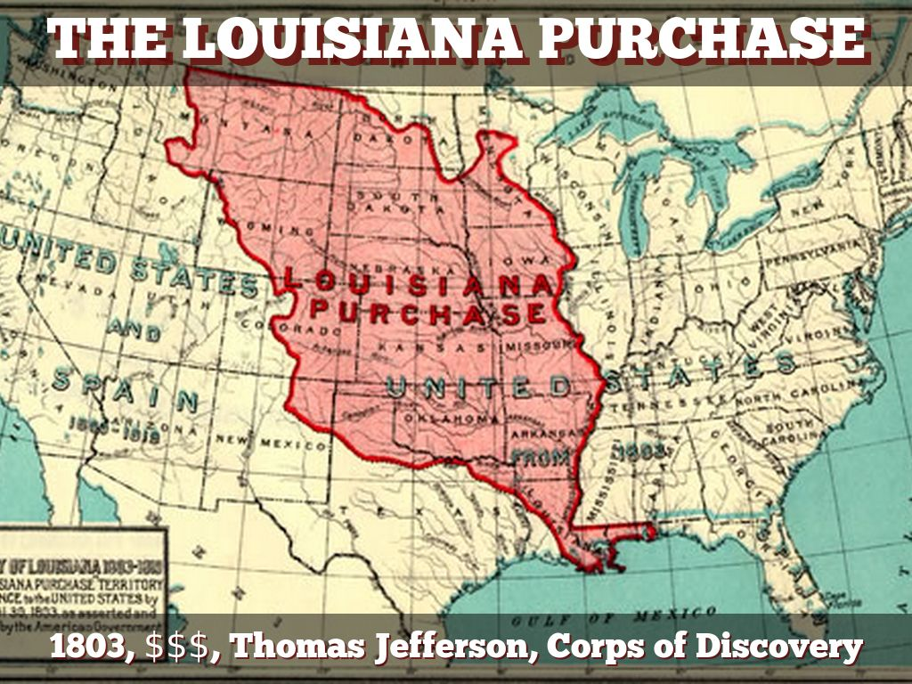 louisiana purchase of 1803 the key When france offered to sell the louisiana territory to the united states in 1803, jefferson wanted to seize the opportunity to double the size of the nation and to provide future generations with a seemingly inexhaustible list four key issues jefferson must confront when considering the purchase of the louisiana territory.