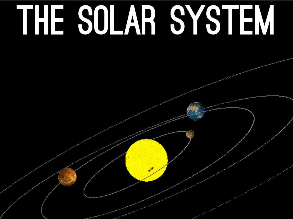 The Solar System By Steckstudents5