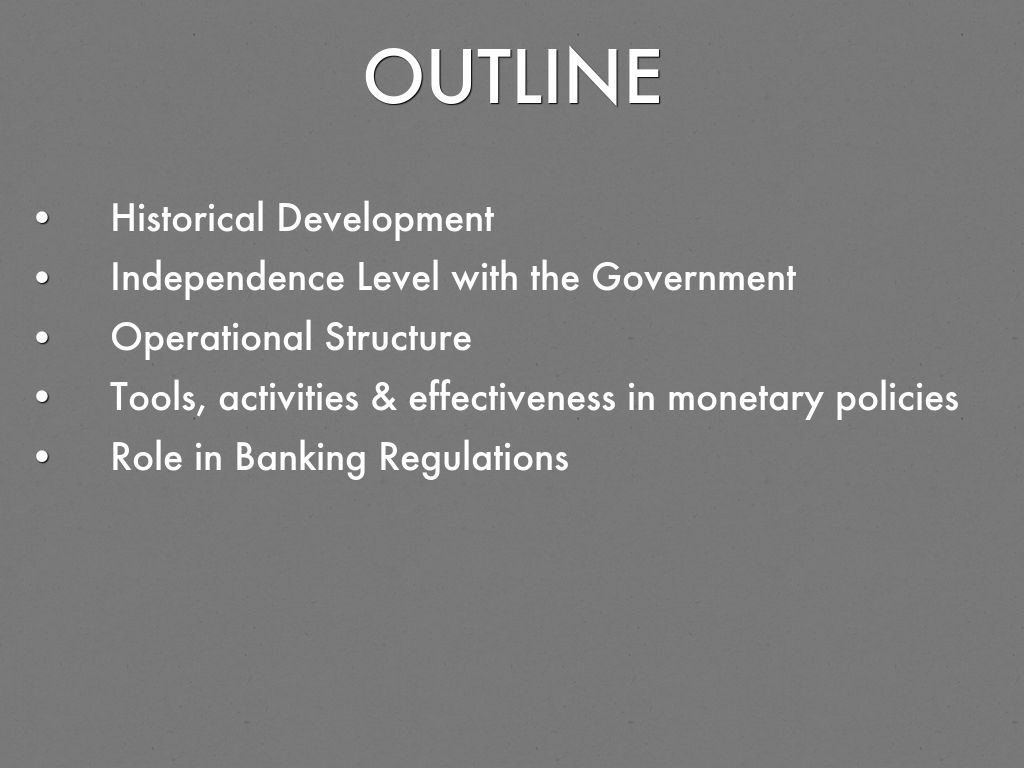 monetary policies and banking regulations in