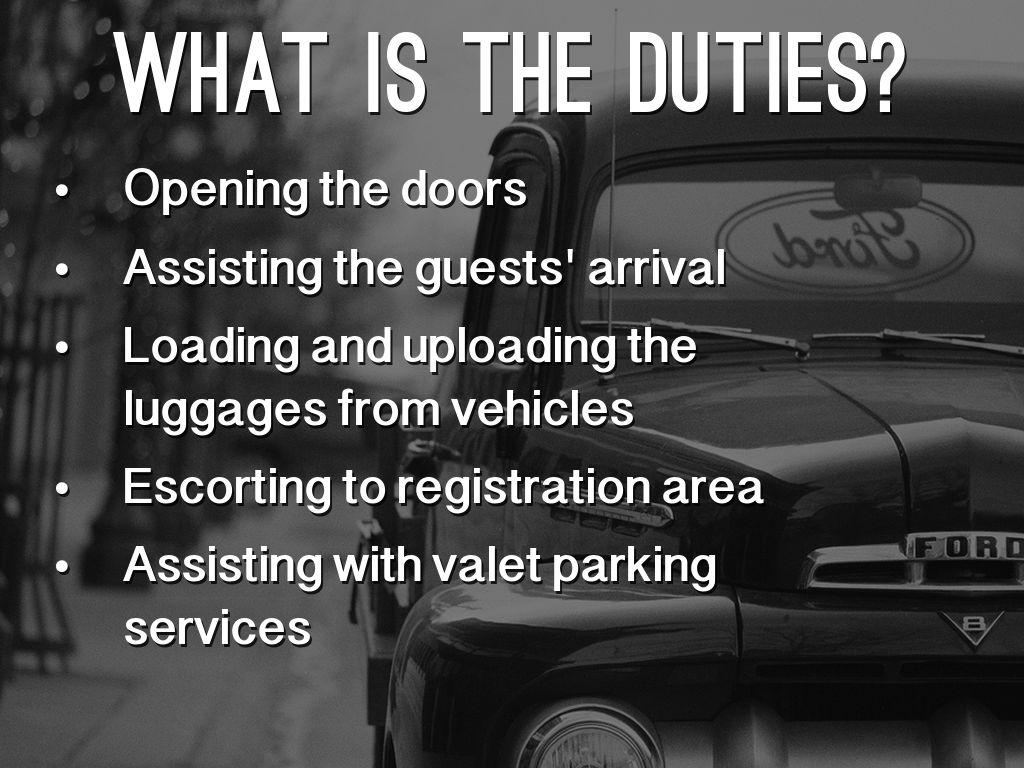valet parking job resume elioleracom business plan templates
