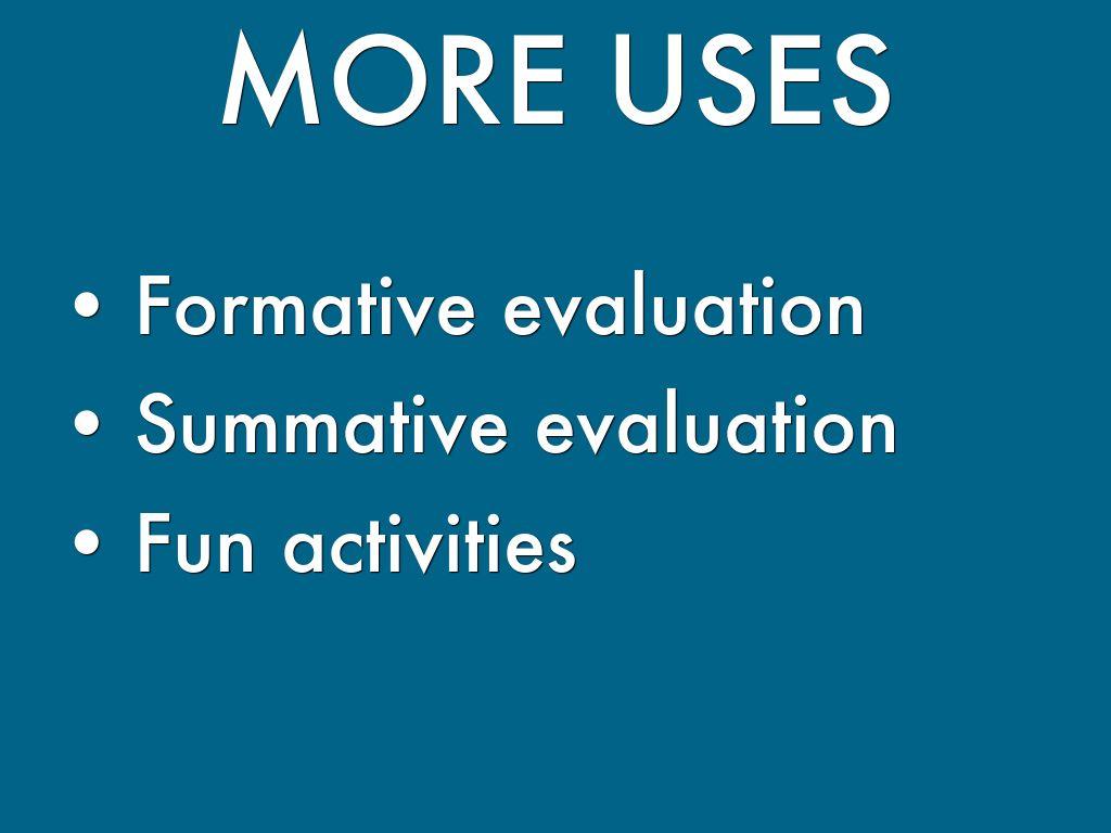 fun evaluation