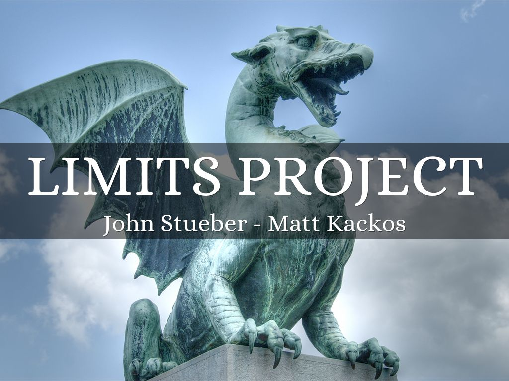 Limits Project