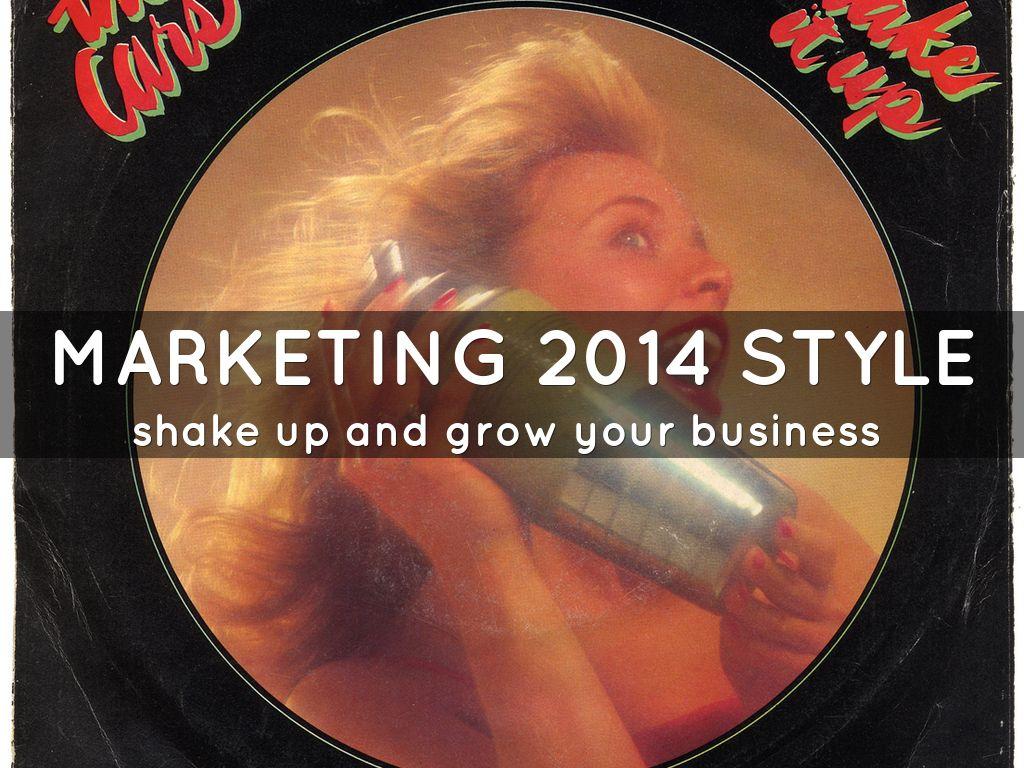 marketing 2014 style