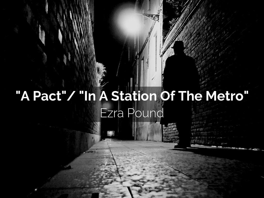 ezra pound in a station of the metro