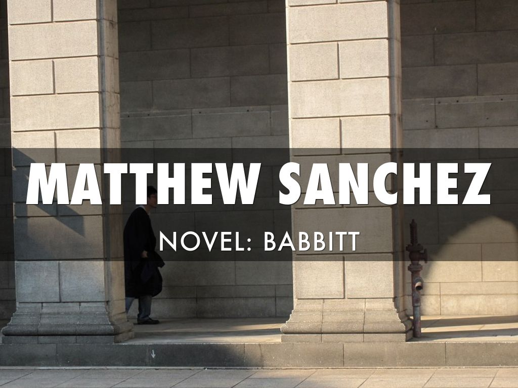 an analysis of the aspect of youth of george babbitts character in lewis babbitt by sinclair Lisez gratuitement sur youscribecom la version htm, pdf de babbitt.
