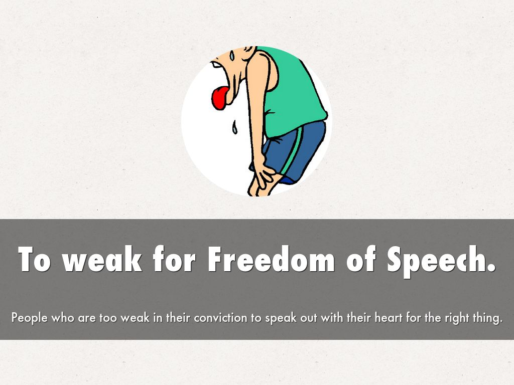an analysis of freedom of speech Learn more about the first amendment center and what we do first amendment center primers is your speech protected by the first freedom of speech.
