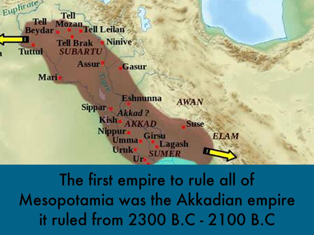 The ancient Mesopotamian Empires by Richard Lundsgaard