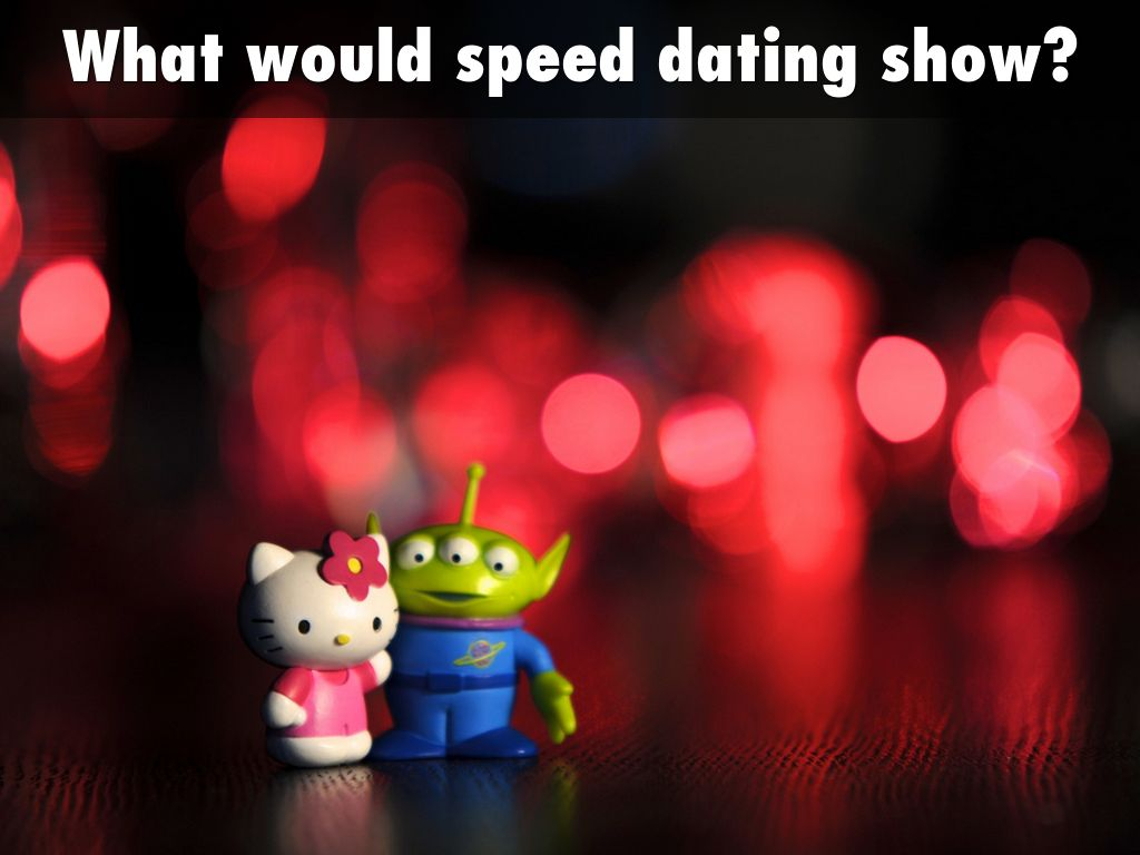 Finkel and eastwick speed dating