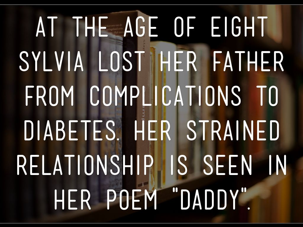 what does the poem daddy by sylvia plath mean