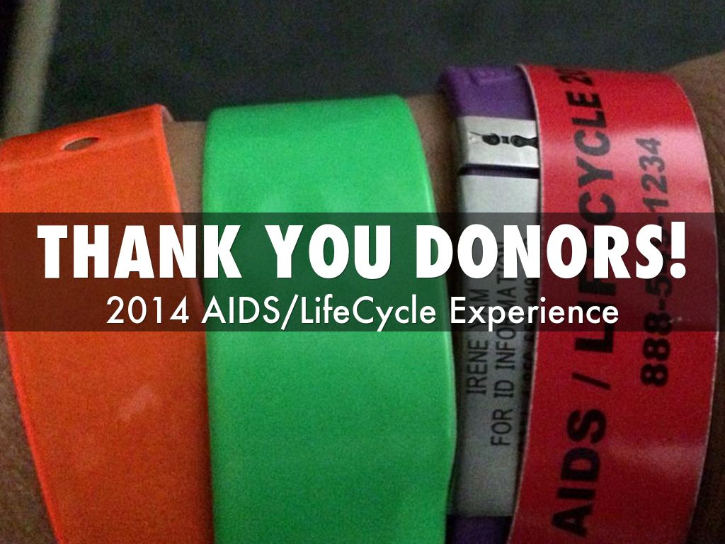 AidsLifeCycle Experience