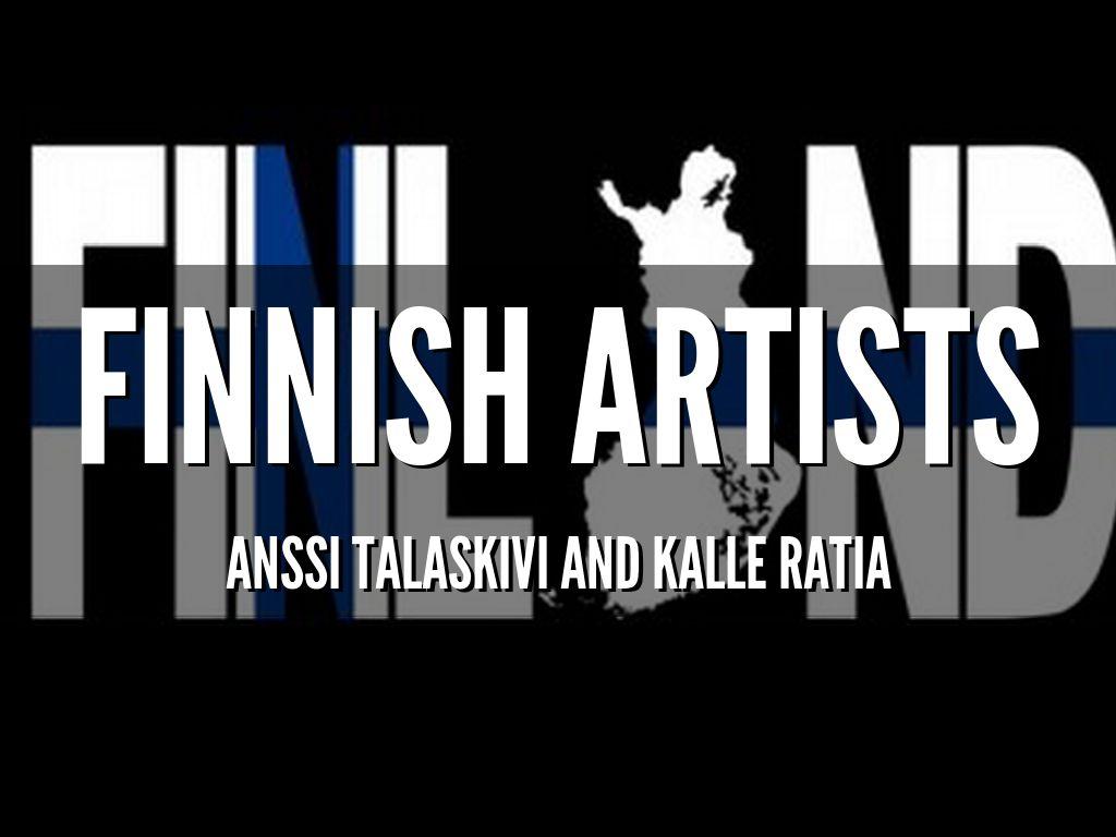 Succesfull Finnish artists