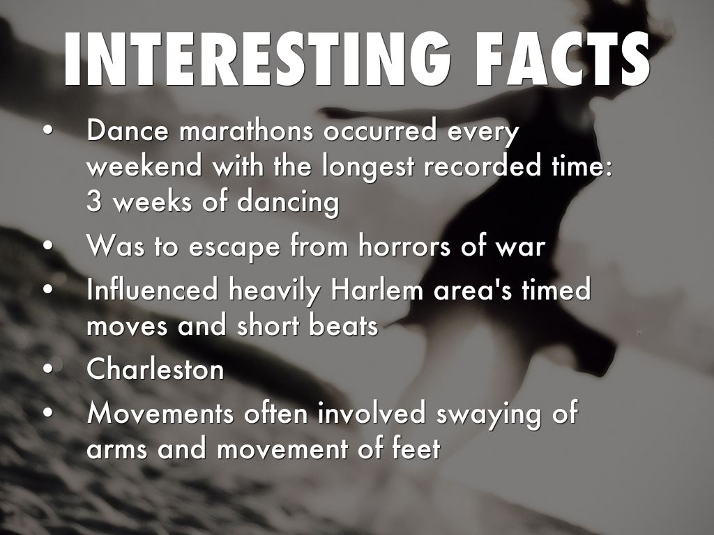 Interesting facts about dance