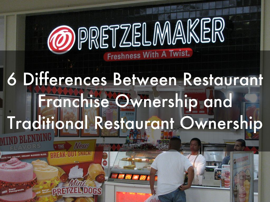 6 Differences Between Restaurant Franchise Ownership