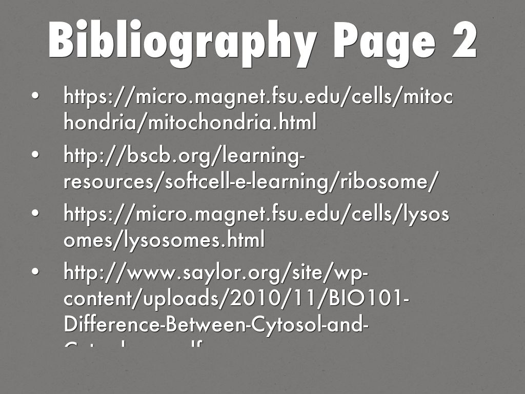 bibliography page This guide covers standard citations for apa, mla, and turabian styles.
