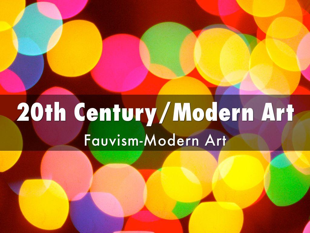 Modern Art Powerpoint Presentation
