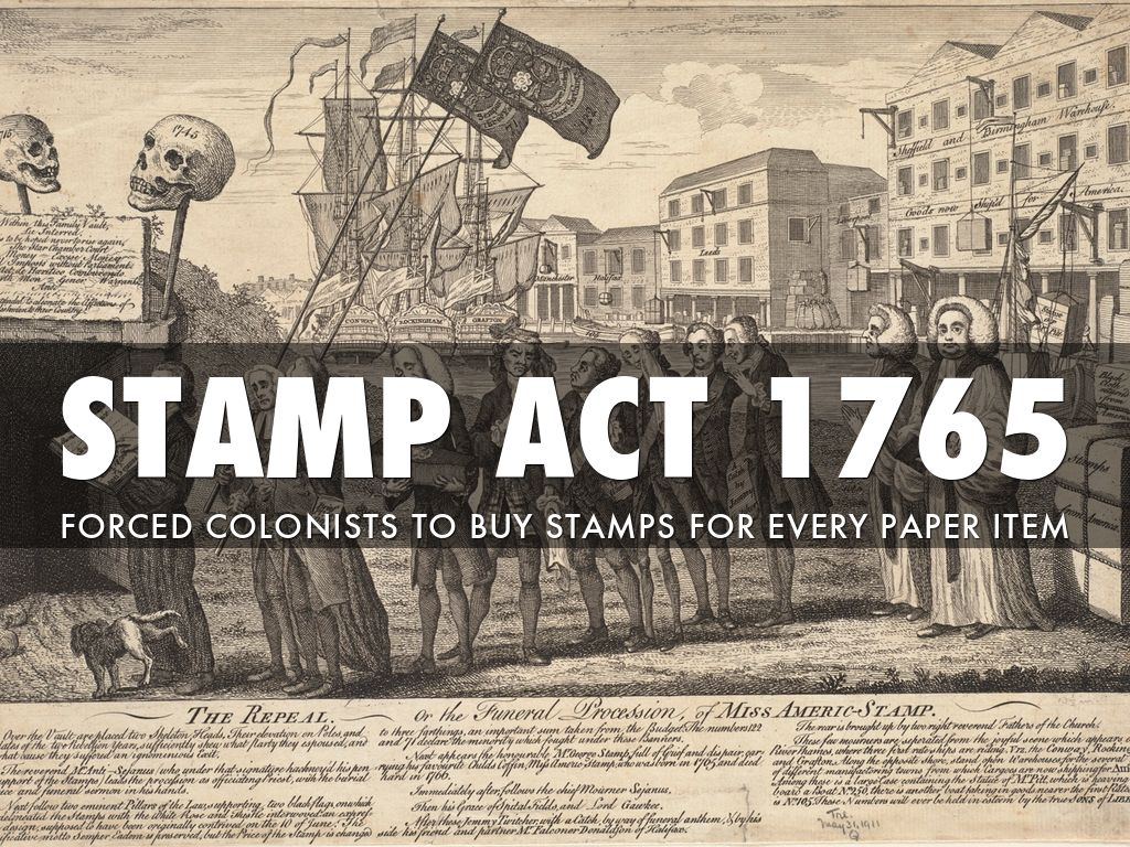 1765-1767: Stamp Act and Townshend Acts