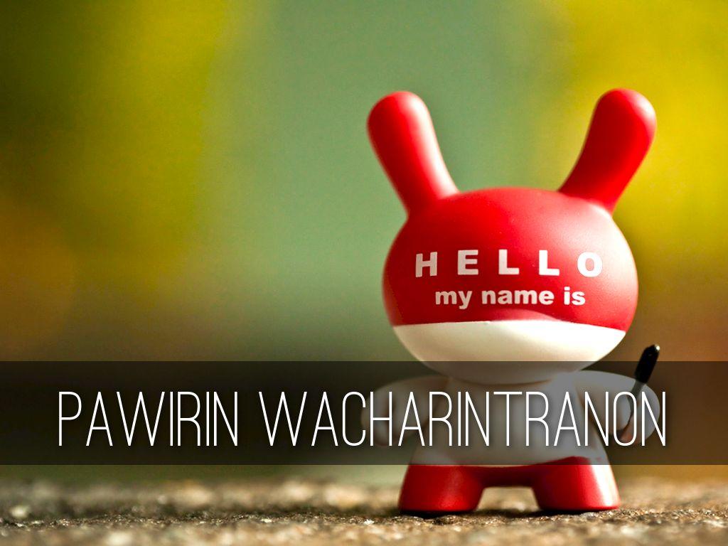 Pawirin Wacharintranon
